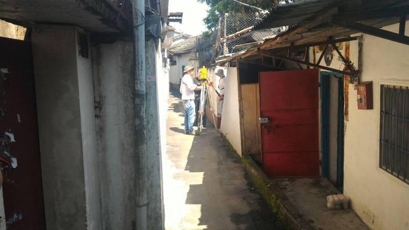 台中市大雅區六寶、忠義社區佔用軍方土地,無黨籍議員徐瑄灃為居住超過30年的自救會請命。圖/徐瑄灃提供