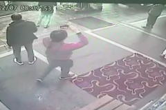 畫面曝光/林森北路四面佛遭縱火 嫌犯對街持手機錄影
