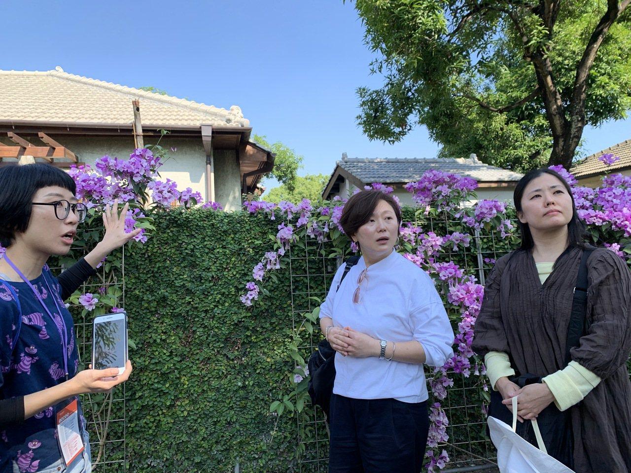 來自日本的教授渡邊美香還感謝台灣把日式眷舍保存下來。記者翁禎霞/攝影