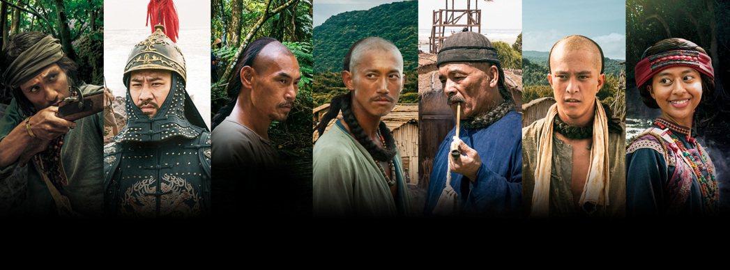 「傀儡花」公布第二波卡司,包括張瑋帆(左起)、黃健瑋、夏靖庭、吳慷仁、雷洪、黃遠
