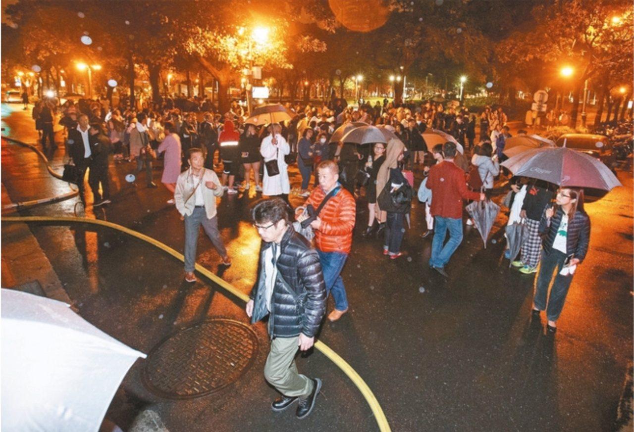 晶華酒店前年發生火警,事後向香奈兒提告求償。本報資料照片