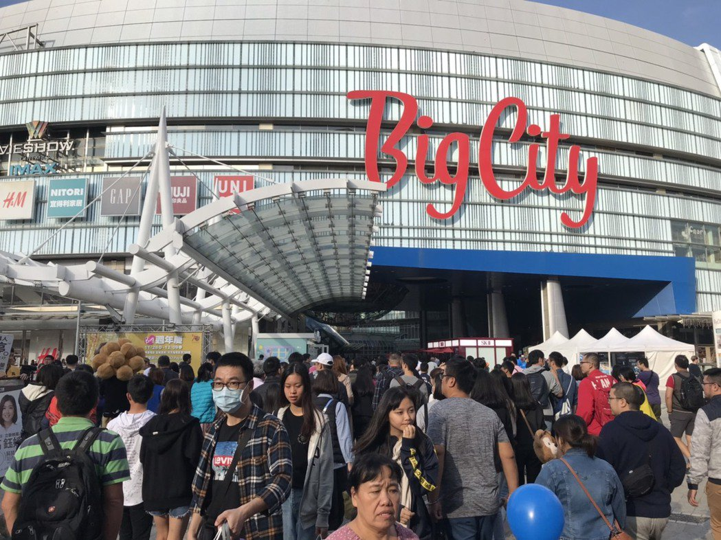 Big City周年慶期間共計湧入逾百萬逛街人潮,全台壓軸氣勢嶄露無遺。業者/提...