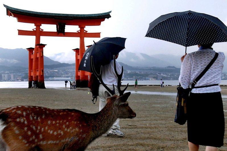 有日本三大美景之一之稱的宮島,考慮從2021年春季起徵收「入島稅」,以保護環境受到過度觀光的破壞。歐新社