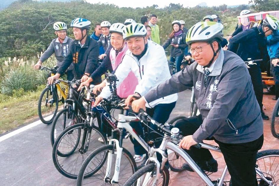 桃園、新北一日生活圈 打造65公里追風自行車道啟用