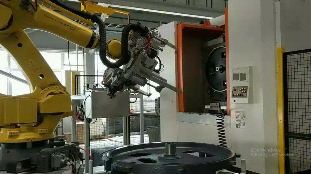 北鉅科技集團自動化生產線。 北鉅/提供