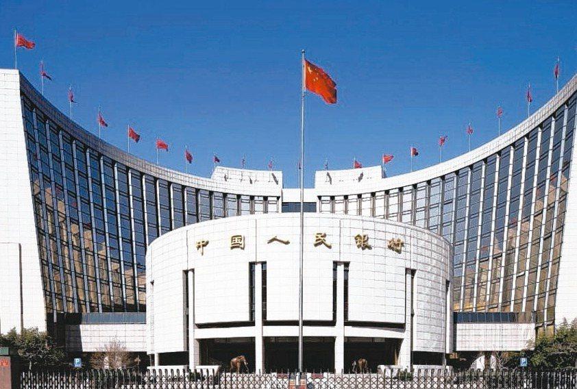 由中國人民銀行(大陸央行)領頭工、農、中、建四大國有銀行,以及中國移動、中國電信...