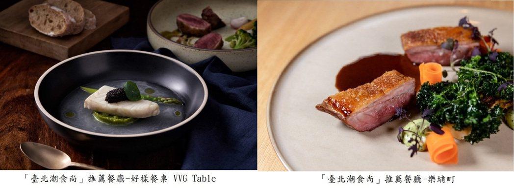 「臺北潮食尚」推薦餐廳。臺北市商業處/提供