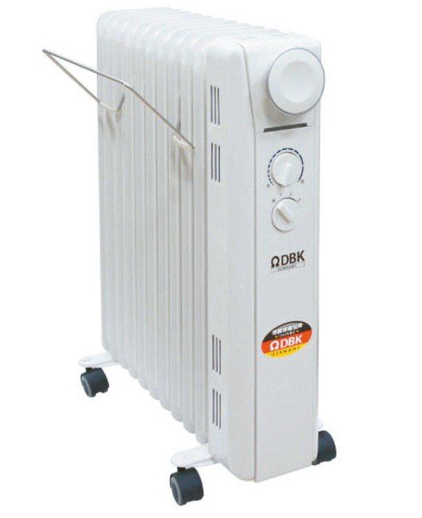 北方-DBK葉片恆溫電暖爐11葉片。 圖/PChome 24h購物提供