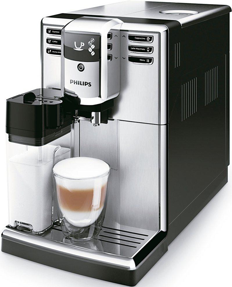 飛利浦全自動義式咖啡機。 圖/全國電子提供