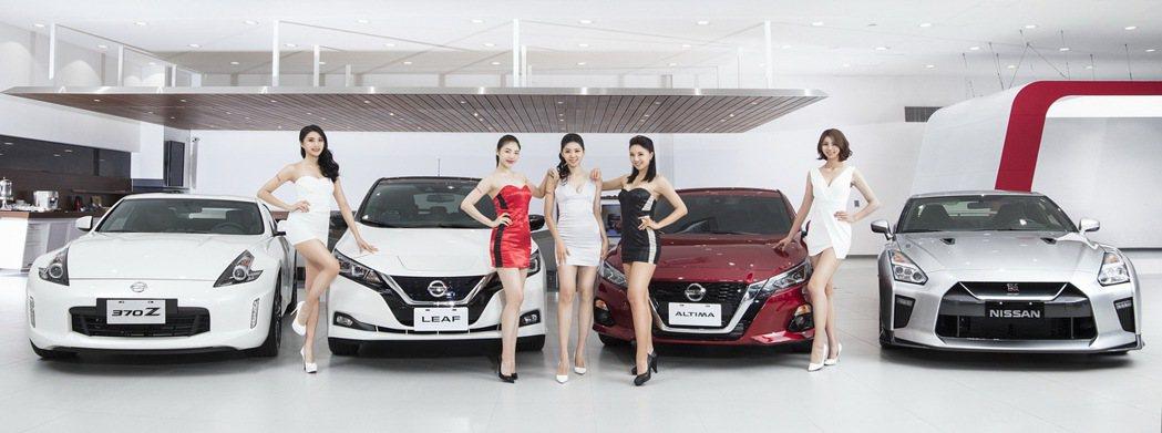 5位時尚名模擔當NISSAN GIRLS,將為廣大車友及來賓帶來令人目不轉睛的演...
