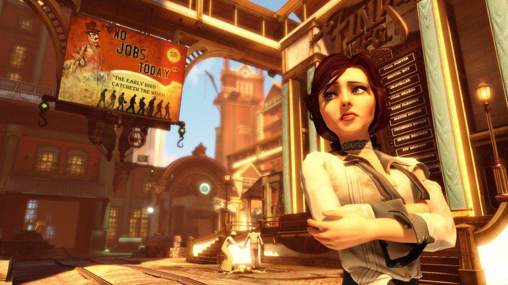 《生化奇兵:無限之城》遊戲畫面