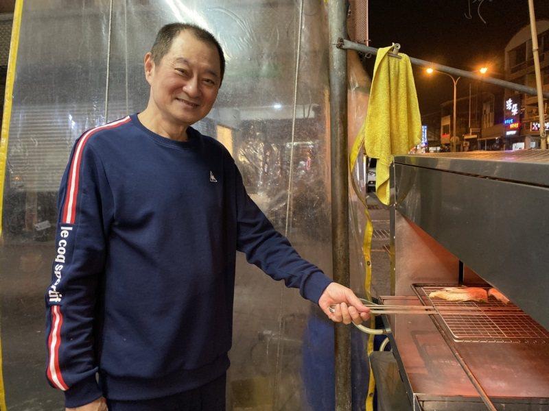 61歲歐光榮年輕時染上毒癮,在獄中度過7年後,受到母親的感化成功戒毒,後來開海產...