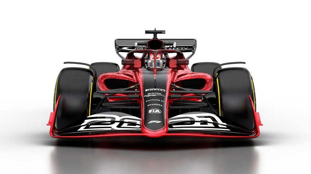 Andrew Green認為前鼻翼的設計將會製造更多的亂流。 摘自F1
