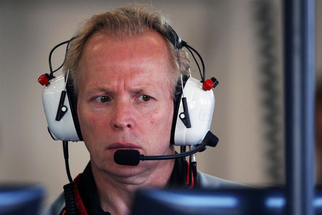 Racing Point F1車隊的技術總監Andrew Green。 摘自Tw...