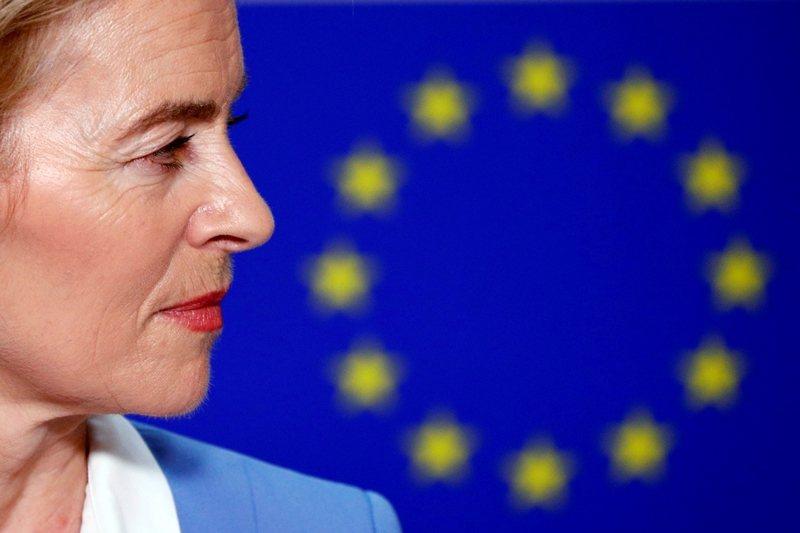 歐盟執委會首位德國籍女性領袖馮德萊恩。 圖/路透社