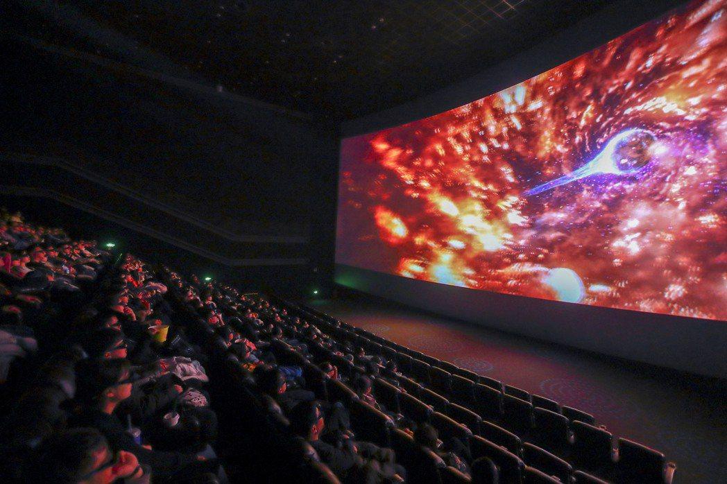 2019年,倒閉的中國影視公司多達1,884家。 圖/中新社