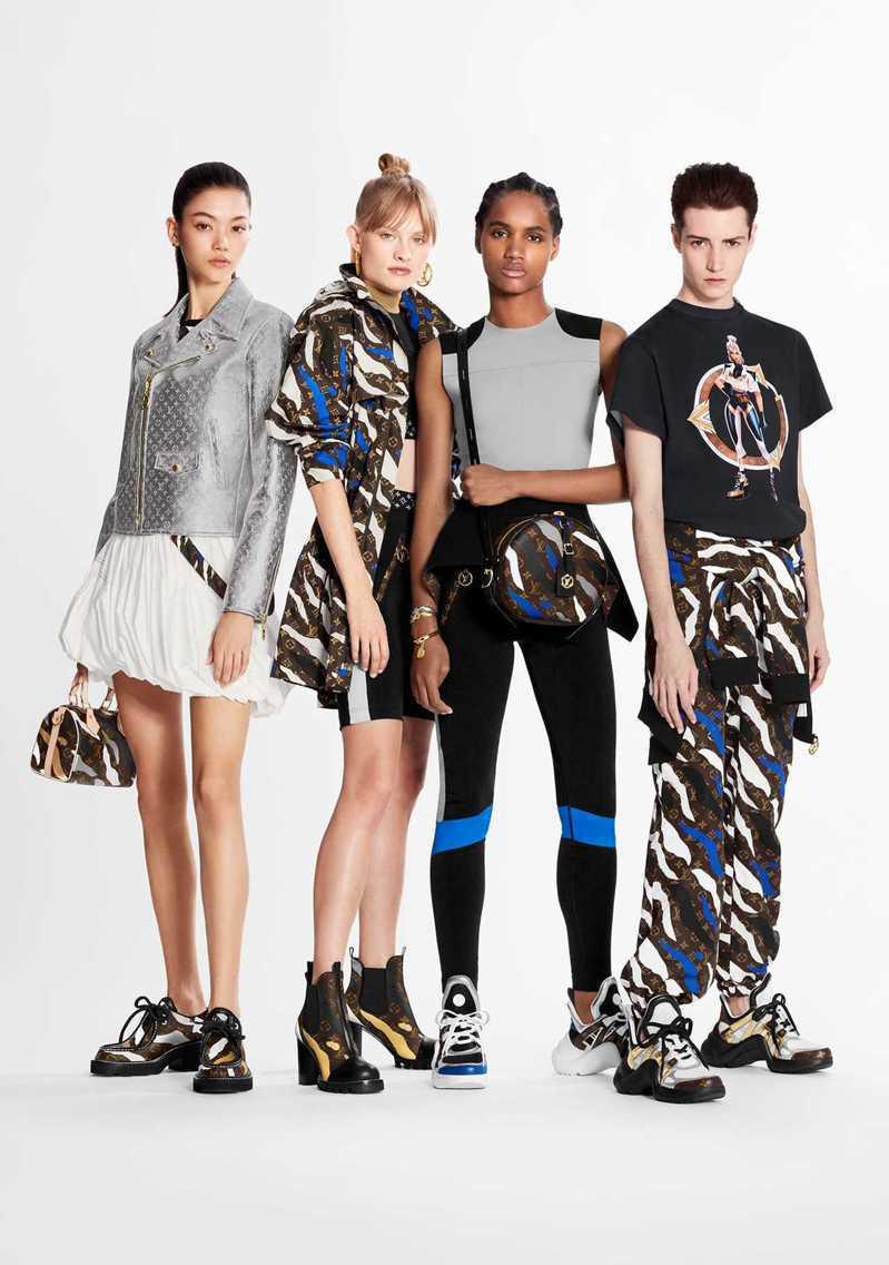 此次的聯名商品推出包包、手錶、鞋子、絲巾等,種類十分豐富/Louis Vuitt...