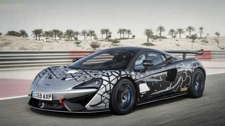 道路版的GT4賽車 McLaren 620R限量350台