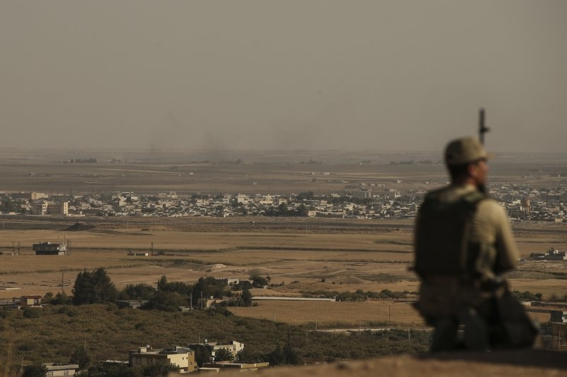 歐盟指責川普政府的撤軍敘利亞,卻不打算自行布署部隊承擔責任。圖為土耳其與敘利亞邊界。 圖/歐新社