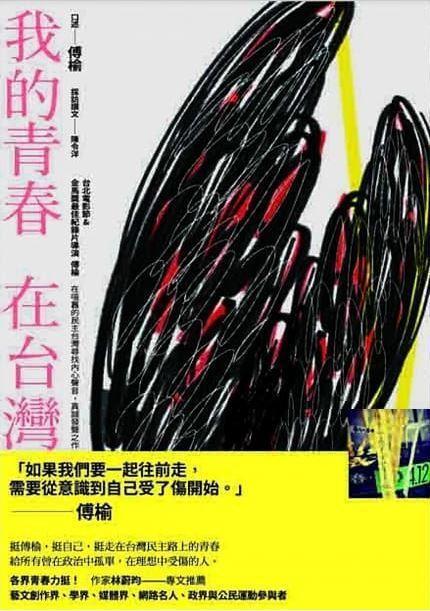 傅榆, 陳令洋《我的青春,在台灣》書封
