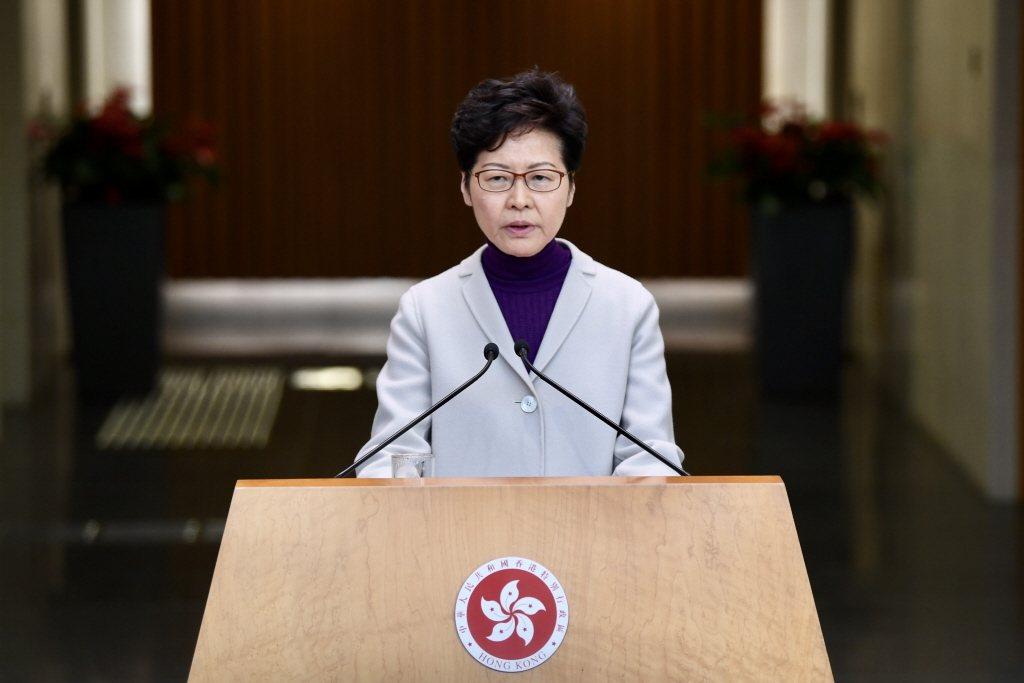 香港特區行政長官林鄭月娥。本報資料照片