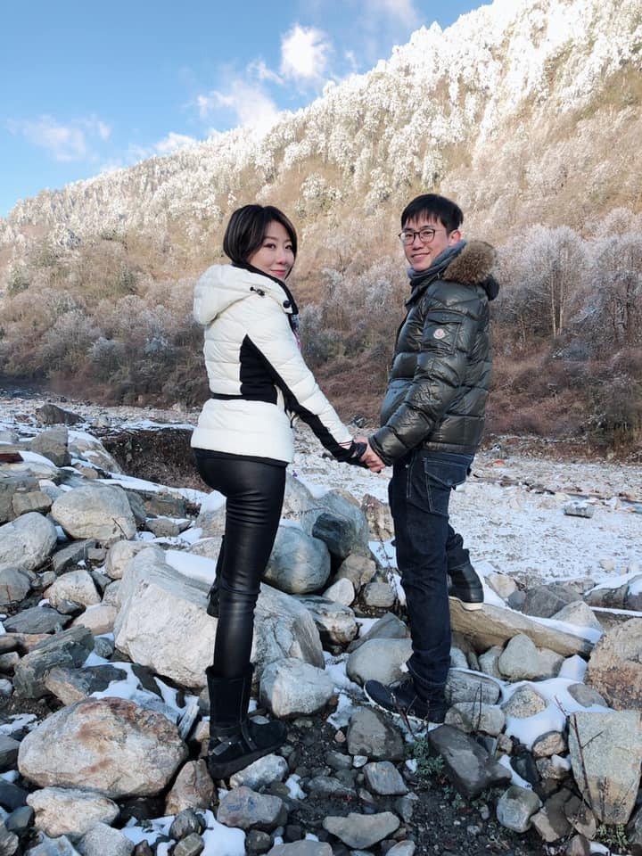佩甄和老公王祚軒是對恩愛夫妻。圖/李佩甄臉書