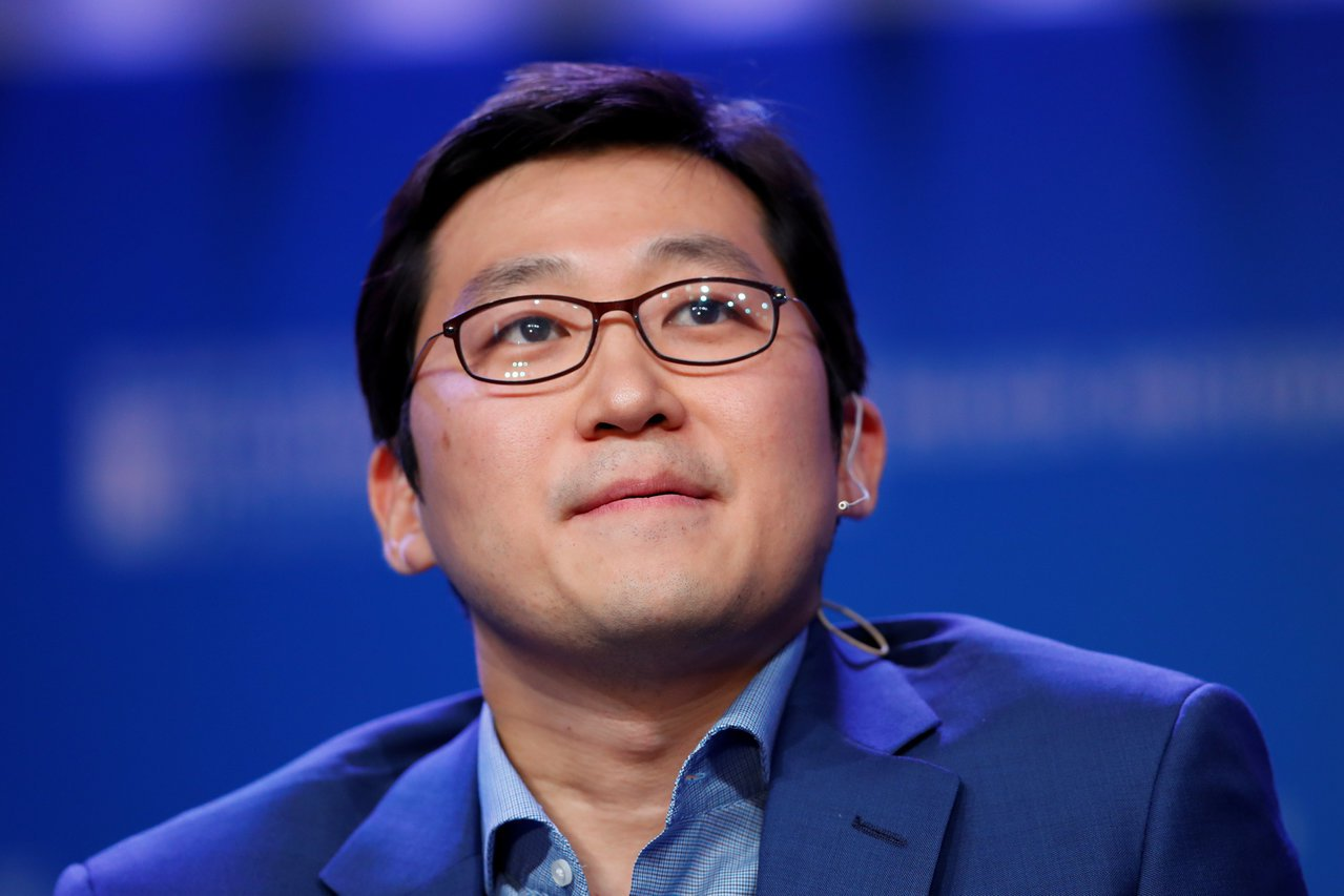 南韓最大電商Coupang創辦人兼執行長金範錫。路透