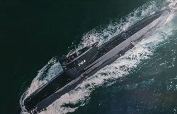 美國國務院批准售台18枚MK-48重型魚雷及相關設備與技術,金額約1.8億美元,擬供海軍劍龍級潛艦(圖)使用。圖/擷自國防部109年形象月曆