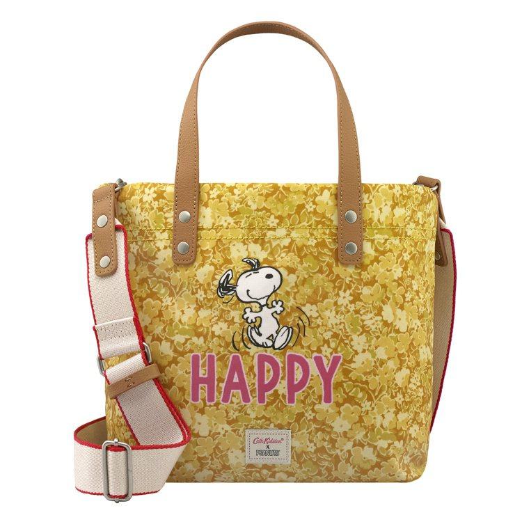 Cath Kidston X Peanuts Snoopy Happy手提斜背包...