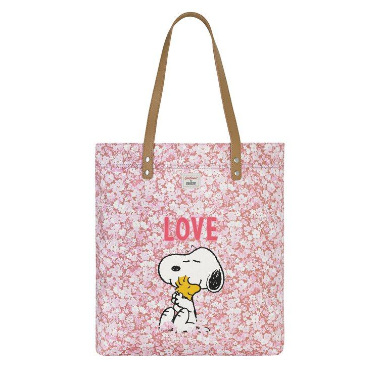 Cath Kidston X Peanuts Snoopy Love手提袋,2,...