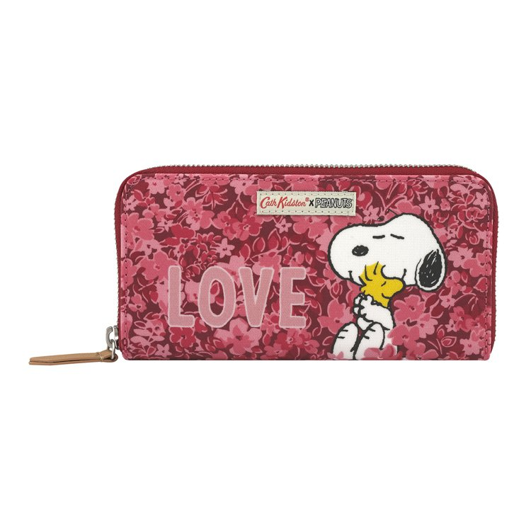 Cath Kidston X Peanuts Snoopy Love長夾,2,8...