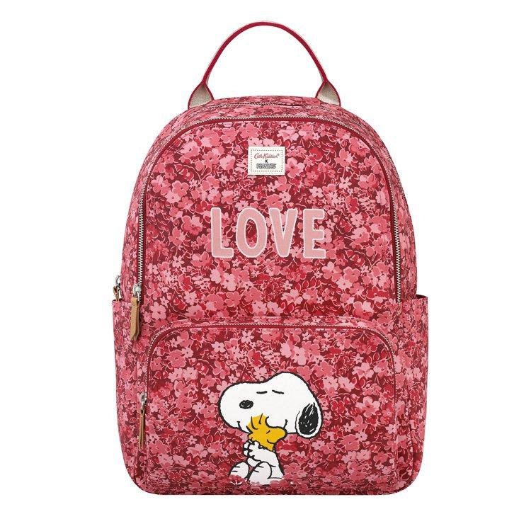 Cath Kidston X Peanuts Snoopy Love後背包,4,...