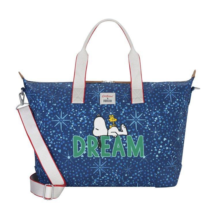 Cath Kidston X Peanuts Snoopy Dream旅行袋,3...