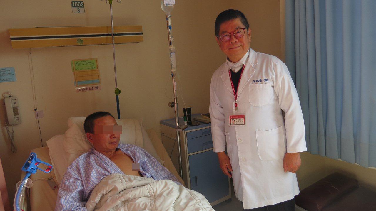 苗栗縣頭份市為恭紀念醫院出院準備,從住院第1天起就啟動相關評估。記者范榮達/攝影