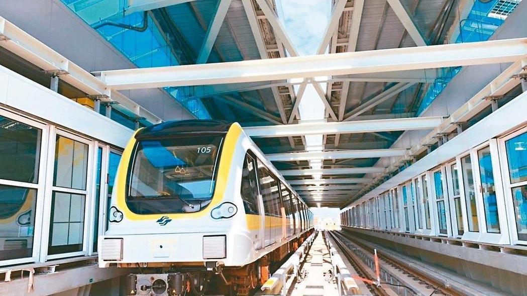環狀線履勘公文日前已送到交通部手上,新北捷運局表示,預計這周將會開委員會議。 圖...