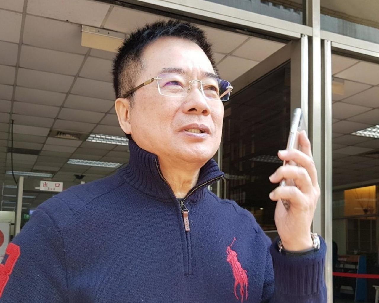國民黨副秘書長蔡正元。 本報系資料照
