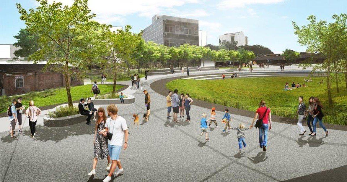 新營鹽水雙星拱月整體規劃包括綠廊、水岸、糖廠、車站及新闢公園,形塑地方城鎮新品牌...