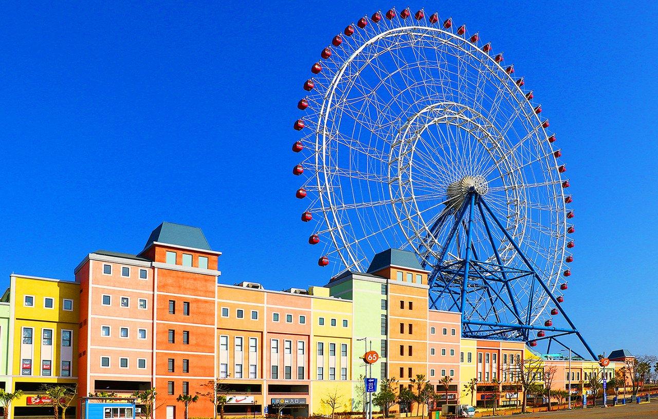 位於台中麗寶樂園度假區的麗寶Outlet Mall二期擴大營運,將於12/25試...