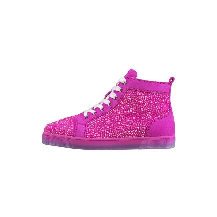 Louis Strass螢光粉休閒鞋具夜光效果,售價10萬2,500元。圖/Ch...
