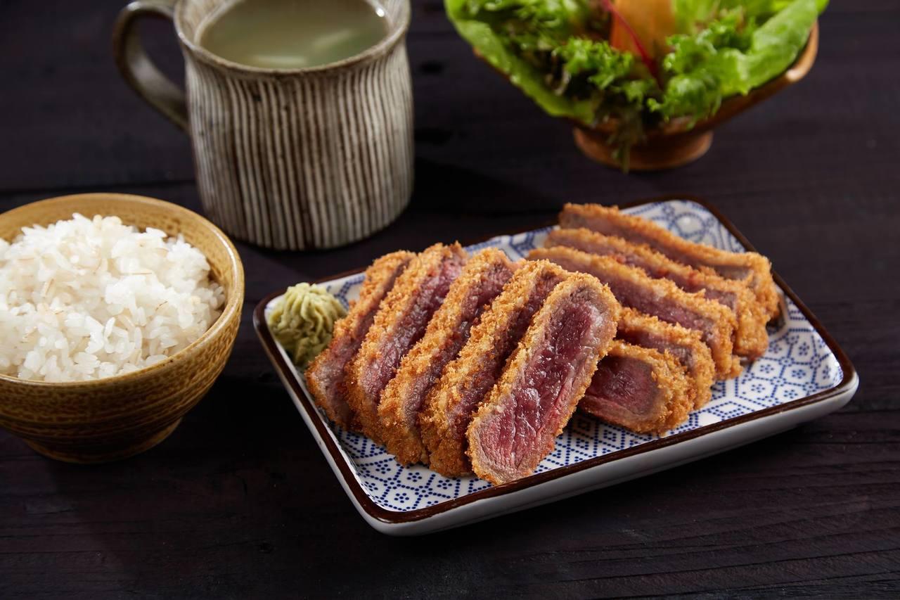 乍牛是王品旗下的日式炸牛排專門店。圖/取自乍牛 炸牛排專賣粉絲頁