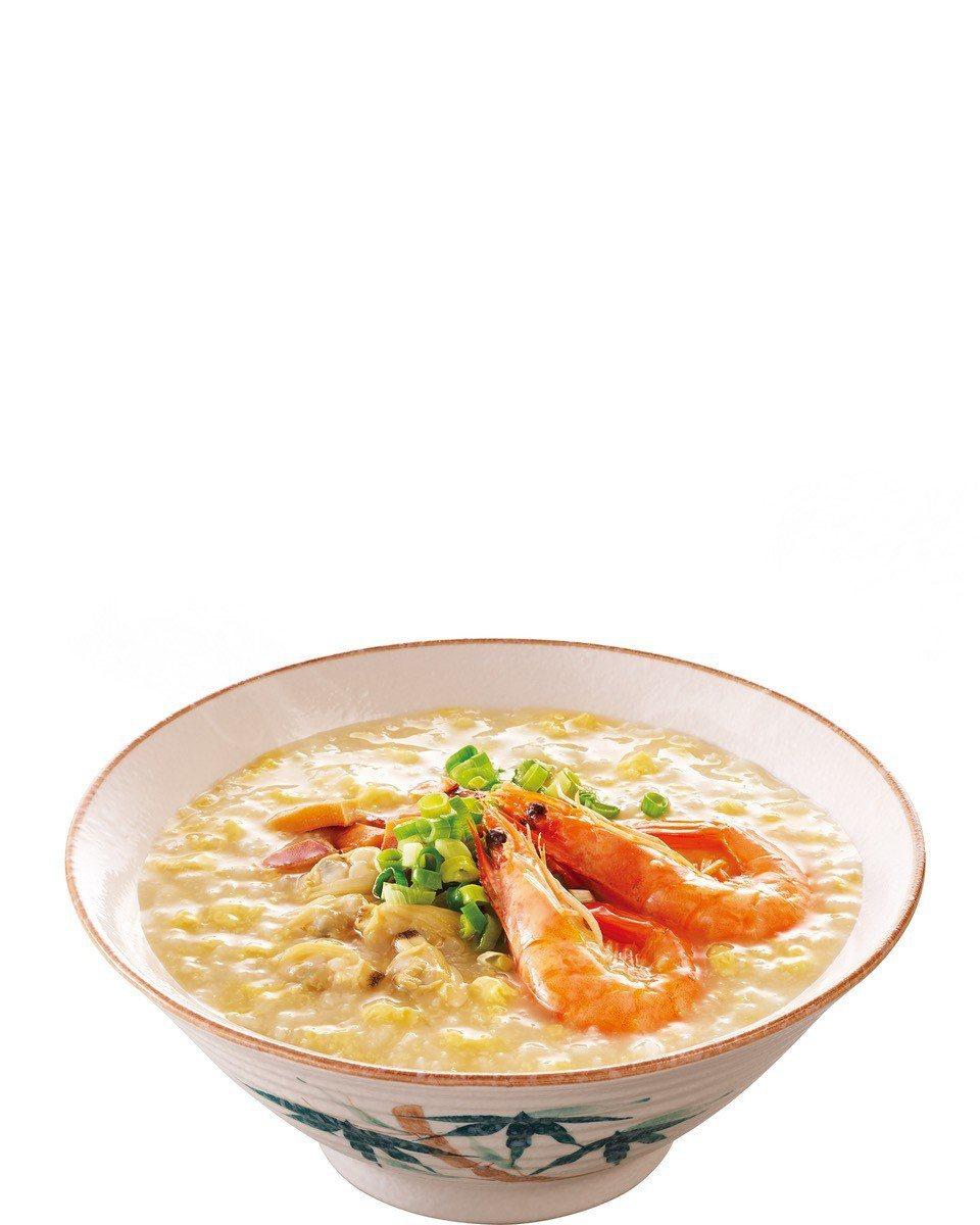 全家便利商店「生滾海鮮煲粥」被被網友讚譽「圖文完全相符」。圖/全家便利商店提供