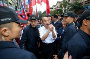 黑武士四處攻擊 韓國瑜:台灣價值變成養網軍消滅對手