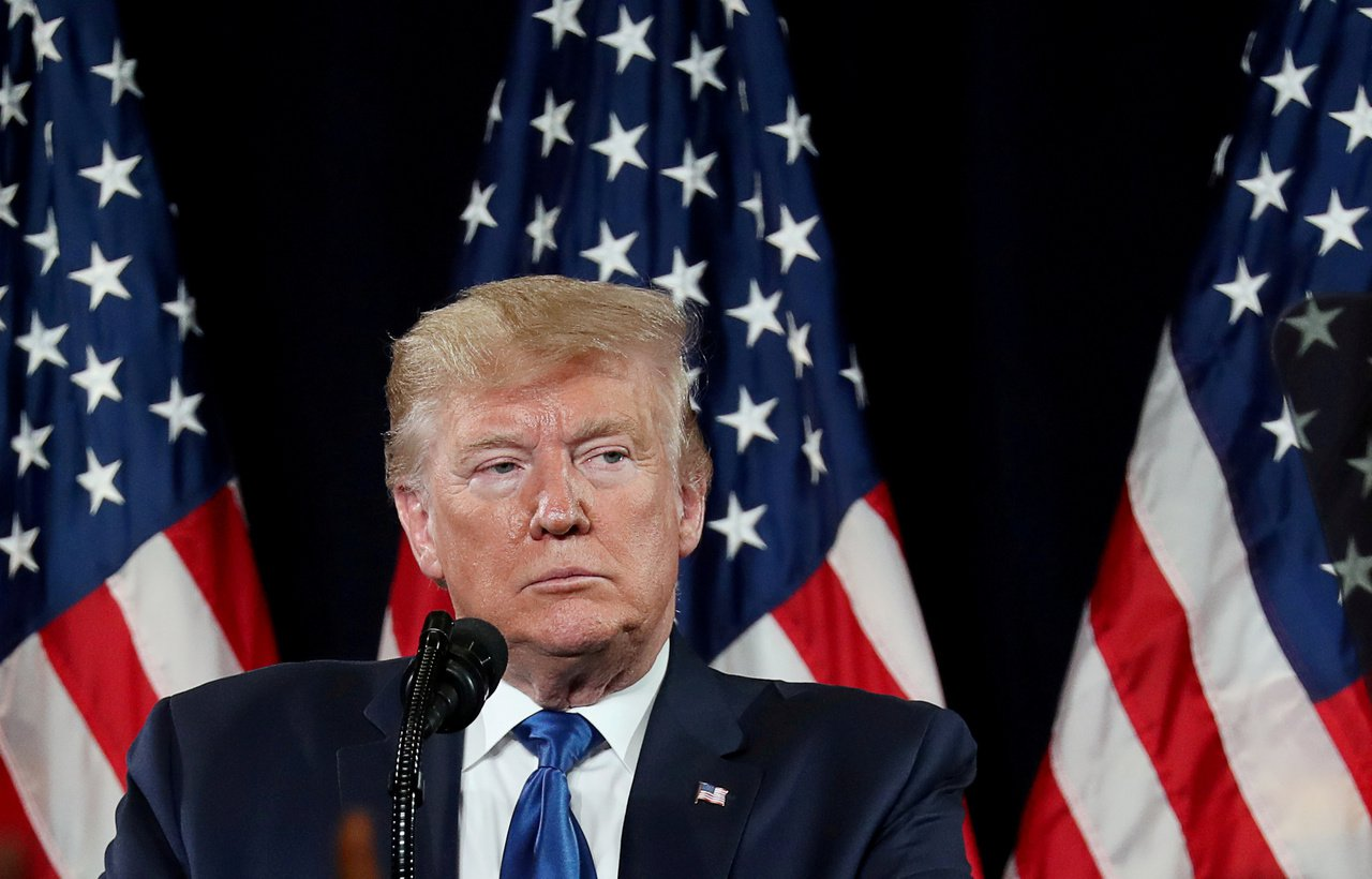 美國總統川普威脅對中國大陸加徵新關稅的15日大限即將來臨。路透。