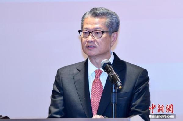 香港財政司司長陳茂波。圖/取自中新網