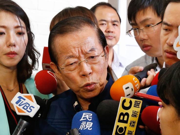 駐日代表謝長廷。聯合報系資料照/記者鄭超文攝影