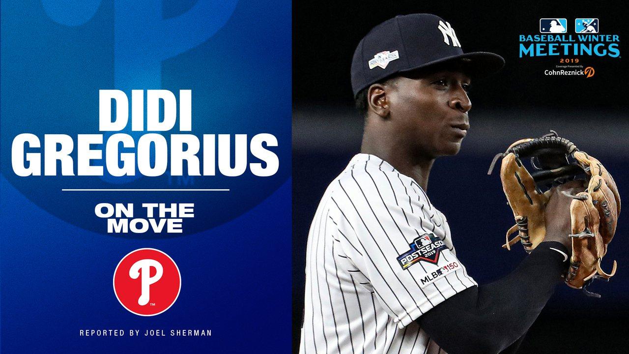 葛瑞格里歐斯將轉戰費城人。 截圖自MLB官方推特