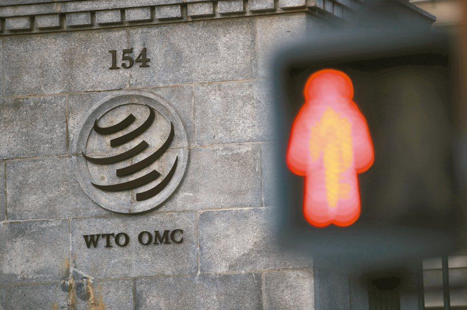 WTO的上訴機構因為法官只剩一人,11日開始停擺。 路透