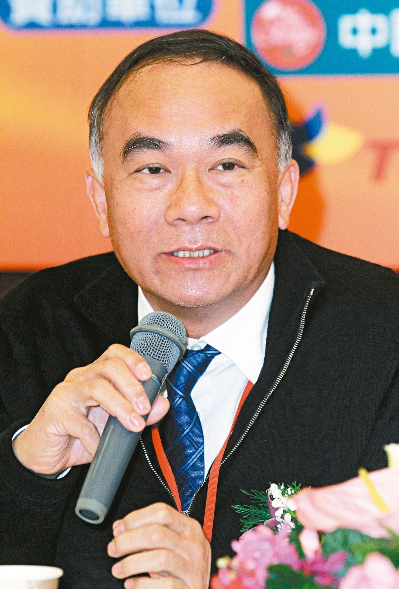 新光鋼鐵董事長粟明德。圖/聯合報系資料照片