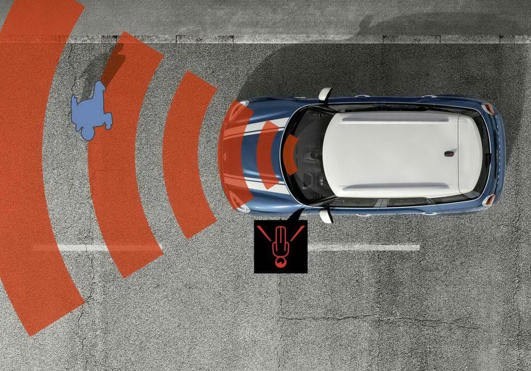 標準配備碰撞預警系統。 圖/汎德提供