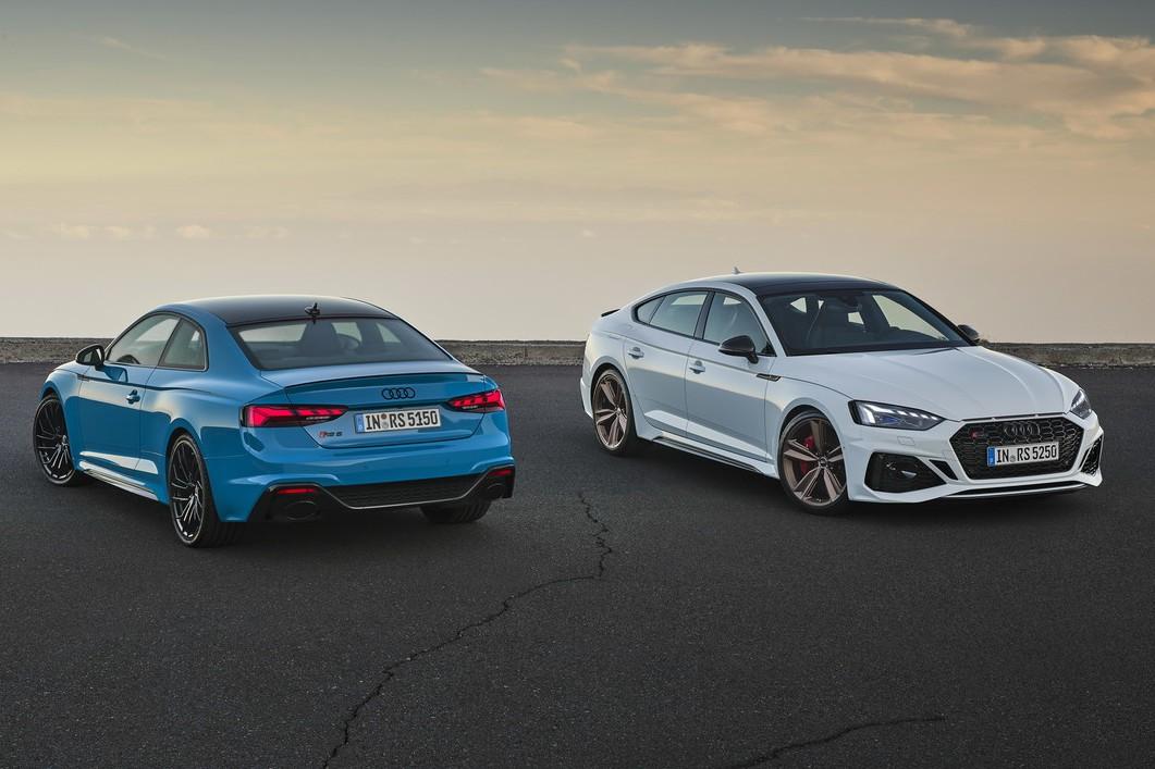 歐洲Audi RS 5 Coupe/Sportback新年式小針美容 全新升級上市!